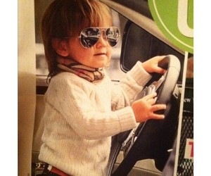 little boy, lovely, and sunglasses image