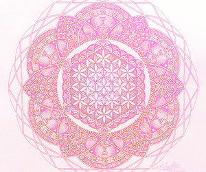 mandala, art, and draw image