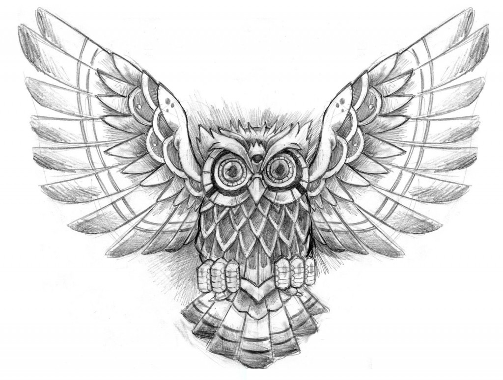 Owl Tattoo Designs Incredible Owl Tattoo Design Discovered By Zuzana