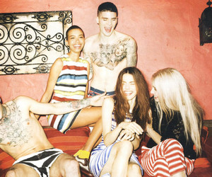 dolce and gabbana, models, and style image