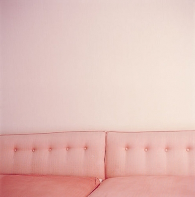 pink, couch, and sofa image