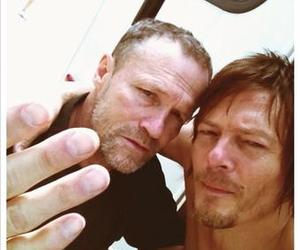 the walking dead, brothers, and norman reedus image