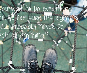 quote, climb, and inspiration image