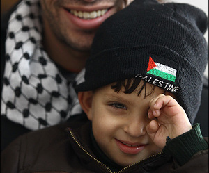 father, Palestinian, and love image