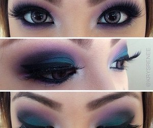 fashion, girl, and make up image