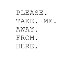 text, away, and me image