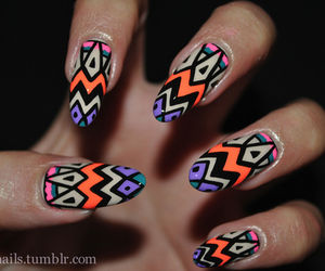 nails, cute, and colors image
