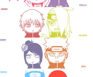 akatsuki, deidara, and itachi image