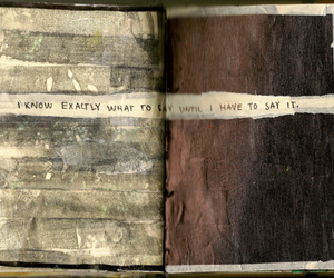 dark, journal, and meaning image