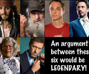 argument, legendary, and sheldon cooper image