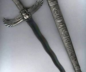 egypt, medieval, and sword image
