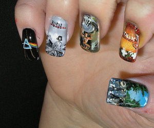 nails, metallica, and Pink Floyd image
