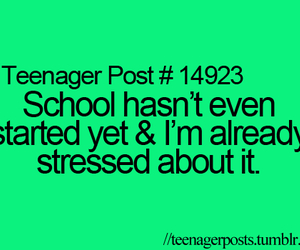 teenager post, school, and quote image