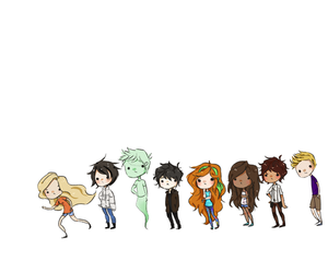 pjo and chibi pjo image