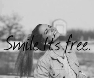 smile, girl, and free image