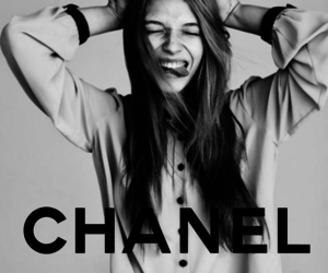 black and white, chanel, and mine image