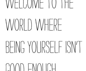 world, quote, and yourself image