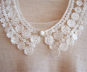 lace, pink, and vintage image
