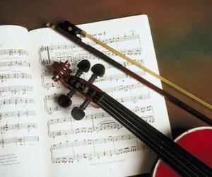 classical music, violin, and music image