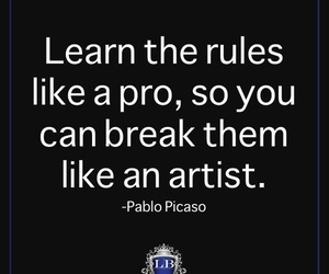quote, artist, and picasso image