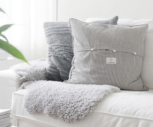 home, pillow, and white image