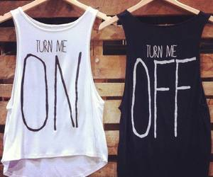 fashion, on, and off image