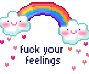 feelings, fuck, and png image