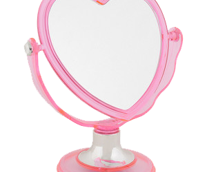 mirror, overlay, and pink image
