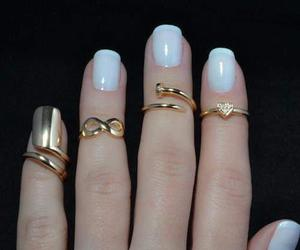 heart, infinity, and rings image