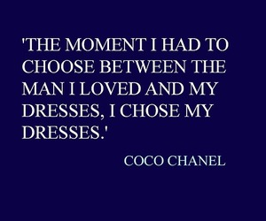 love, coco chanel, and quote image