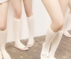 ballerina, legs, and pale image