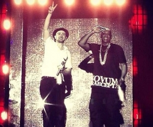 jay-z, legend of the summer, and justin timberlake image