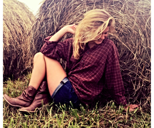 country, flannel, and plaid image