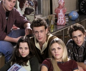 freaks and geeks, cast, and james franco image