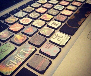 keyboard, cool, and computer image