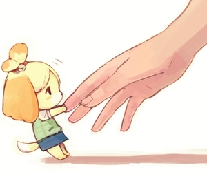 adorable, illustration, and animal crossing image