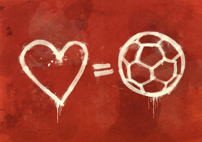 spotykać się Darmowa dostawa kup tanio football is love - Puma on We Heart It