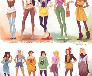 princess, disney, and hipster image