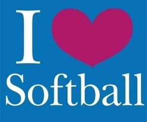 sport, softball, and girl image