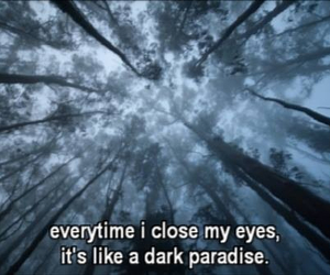 lana del rey, dark paradise, and quote image