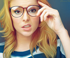 grace helbig, dailygrace, and glasses image