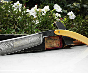 straight razor, vintage, and gift ideas image