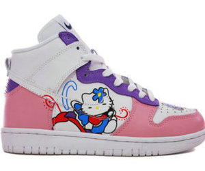 nike shoes hello kitty image