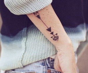 arm, Tattoos, and cute image