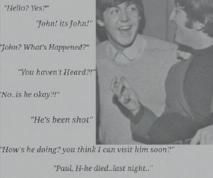 Paul McCartney and john lennon image