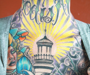 light house and tattoo image