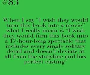 books, movie, and obsessed image