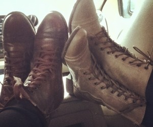 combat boots, cuteee, and love image