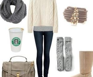 winter, outfit idea, and cálido image