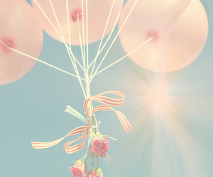balloons, beautiful, and freedom image